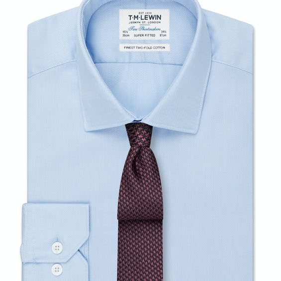 Super Fitted Blue Royal Oxford Shirt 0