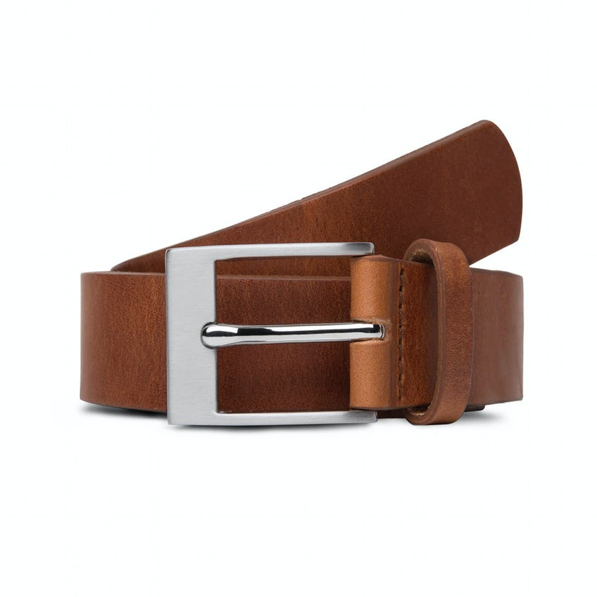 Made In England Tan Leather Belt
