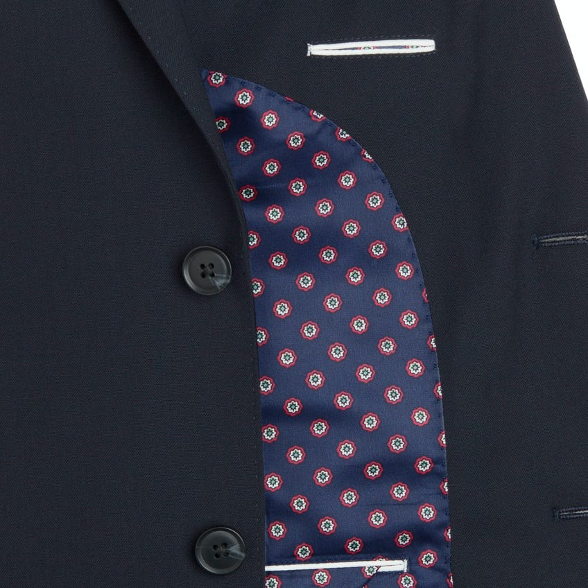 Greenwich Navy Slim Fit Infinity Suit 0