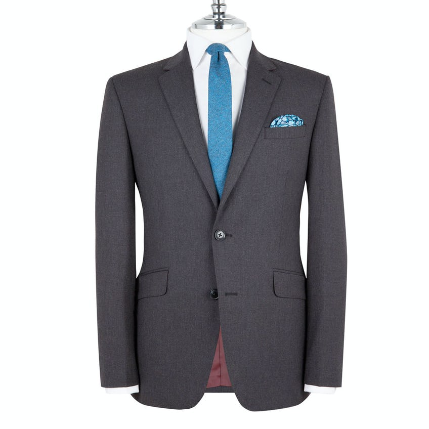 Woolwich Infinity Slim Fit Charcoal Jacket 0