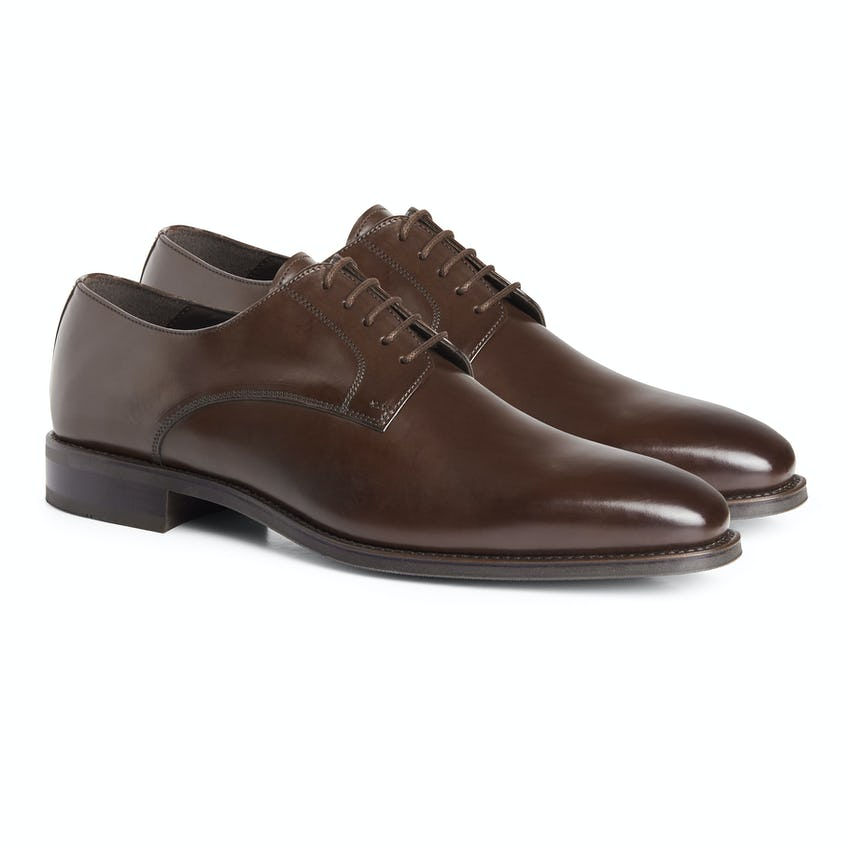 Infinity Derby Shoes Brown 0
