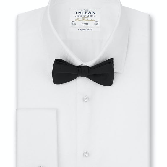 Marcella Fitted Evening Dress Shirt 0