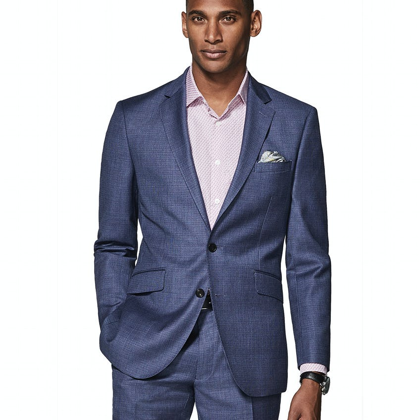 Williams Infinity Active Slim Fit Micro Puppytooth Jacket 0