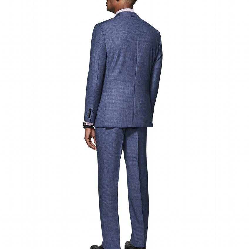 Williams Infinity Active Slim Fit Micro Puppytooth Suit 0