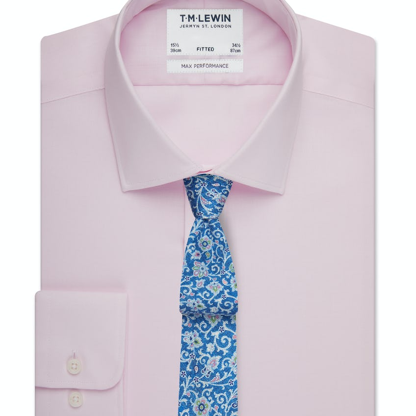 Max Performance Fitted Pink Shirt 0