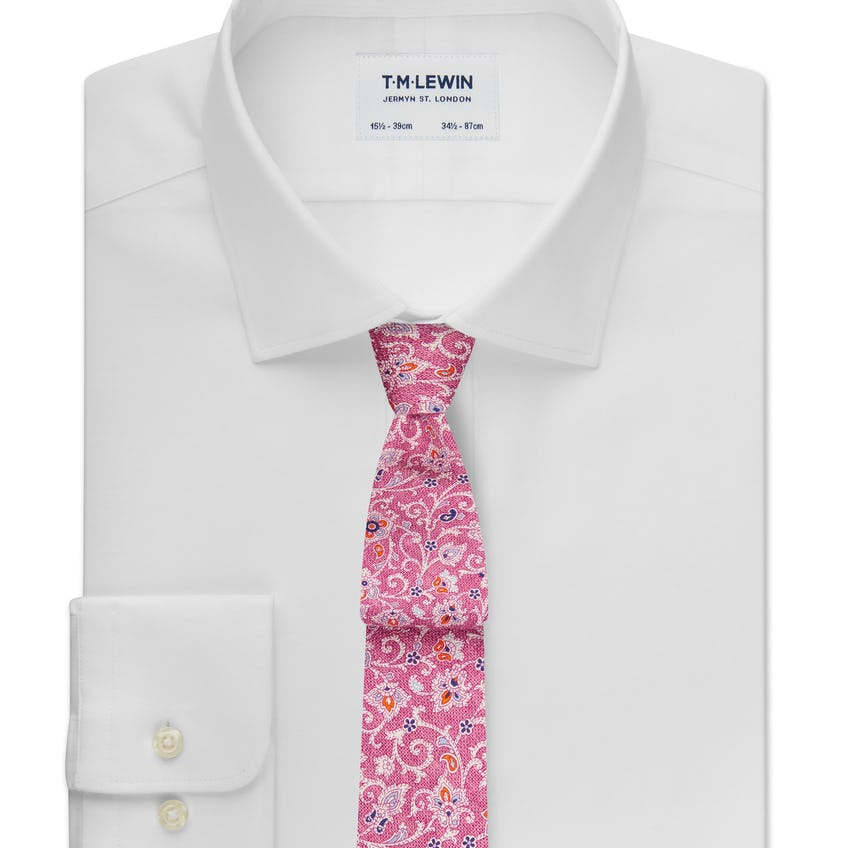 Max Performance Fitted White Shirt 0