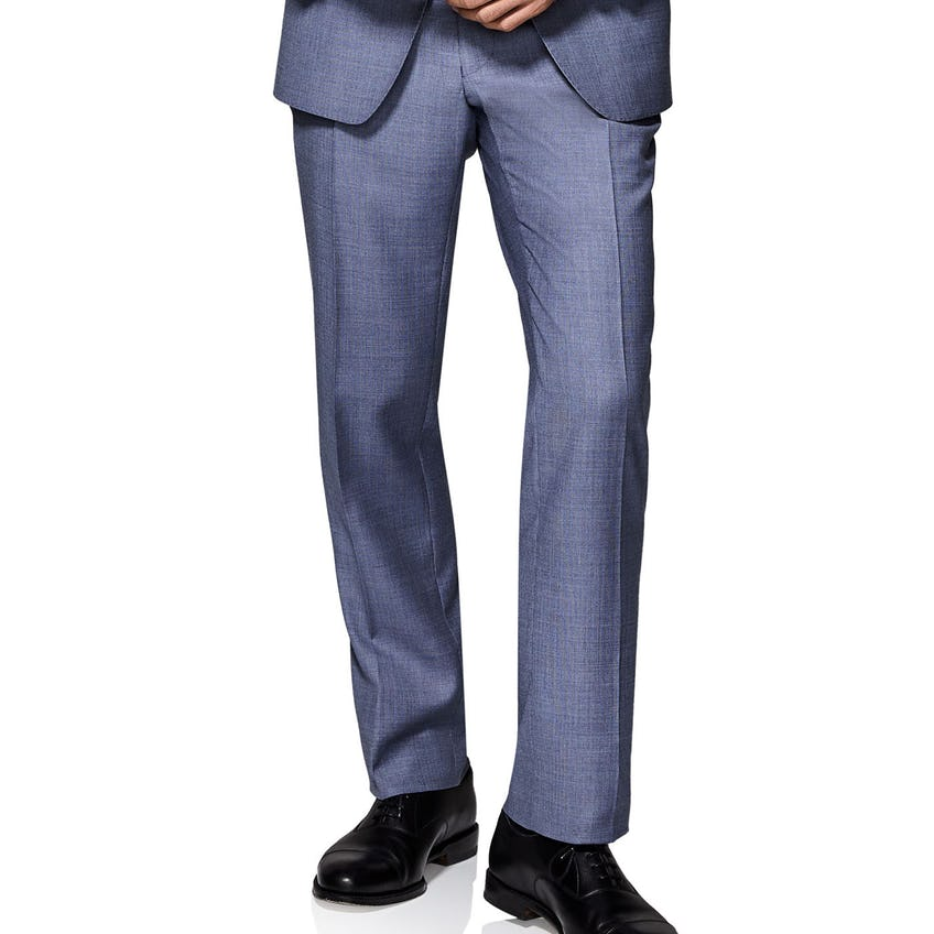 Clarence Infinity Active Slim Fit Melange Trousers 0