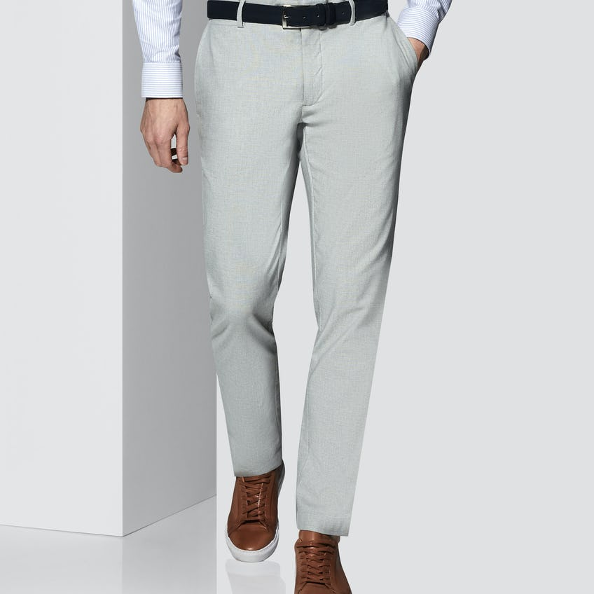 Connery Tailored Fit Grey Trouser 0