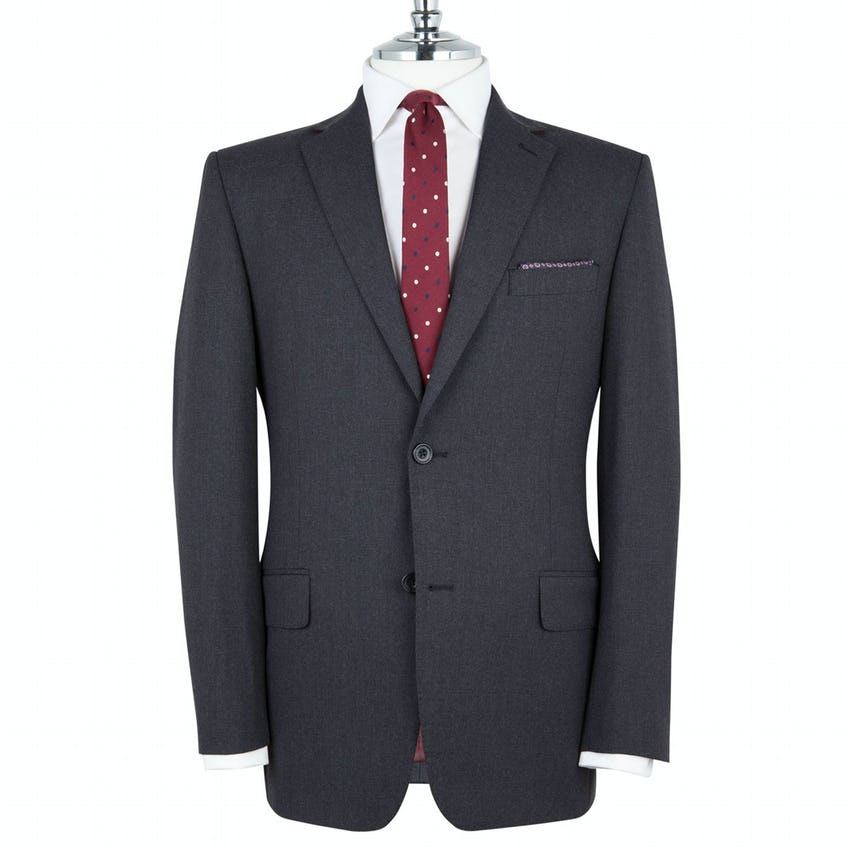 Westminster Infinity Regular Fit Charcoal Jacket