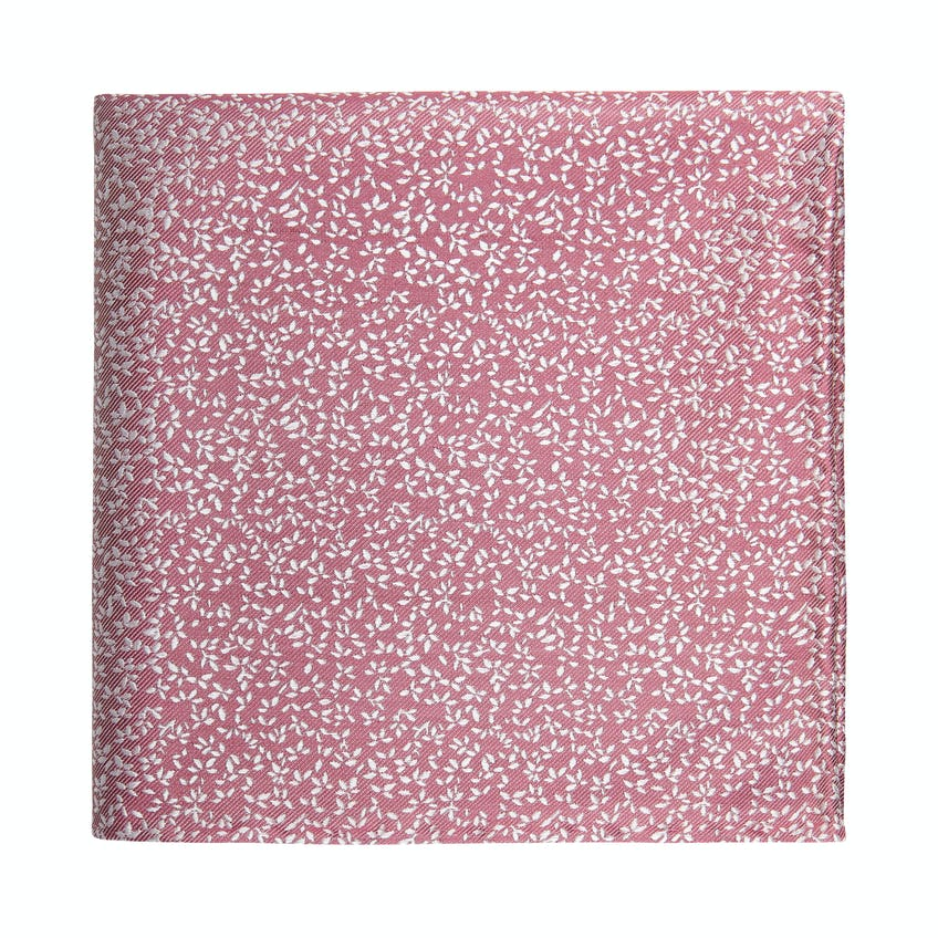 Occasionwear Pink Ditsy Floral Silk Pocket Square 0
