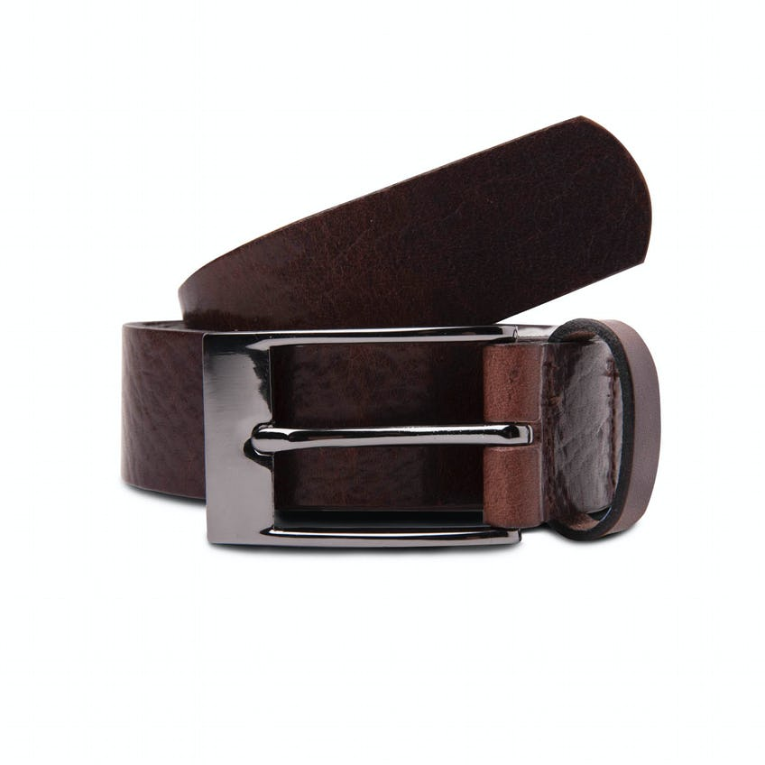 Made In England Brown Leather Belt