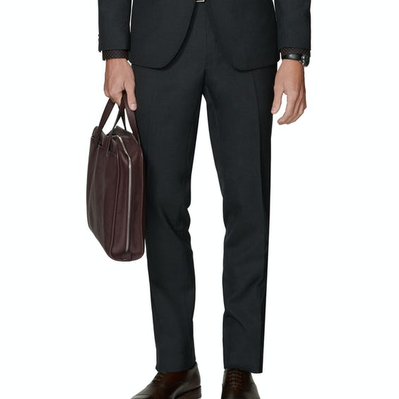 Ronnie Infinity Active Slim Fit Charcoal Trousers 0