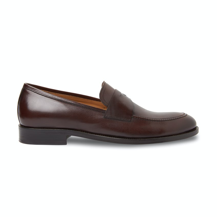 Warwick Brown Leather Loafer 0
